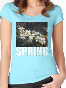 SPRING t Women's Fitted Scoop T-Shirt