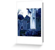 Eleanor Rigby Nobody Came Greeting Card