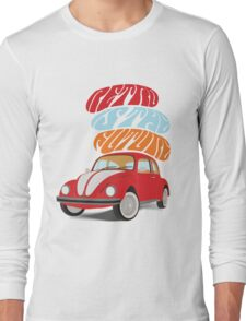 VW Beetle - Retro Is the Future Long Sleeve T-Shirt
