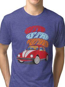 VW Beetle - Retro Is the Future Tri-blend T-Shirt