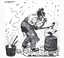 Theodor Kittelsen Smeden og bageren1 One Piece - Short Sleeve