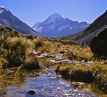 Mount Cook and the Hooker Valley by Alex Cassels