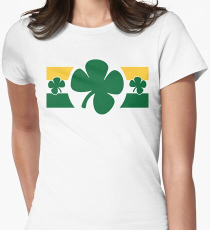Shake Your Shamrocks Womens Fitted T-Shirt