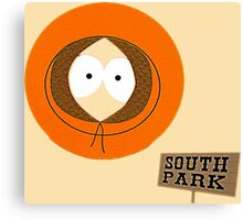Invisible Kenny form South Park Canvas Print