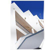 Azure Blue 2 Poster