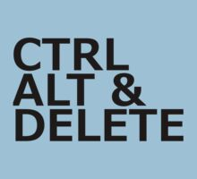 CTRL ALT DELETE One Piece - Short Sleeve