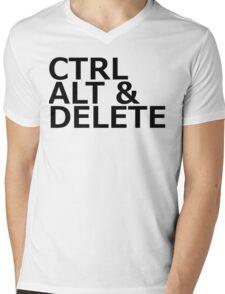 CTRL ALT DELETE Mens V-Neck T-Shirt