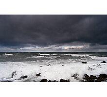 High Winds, North Sea Photographic Print