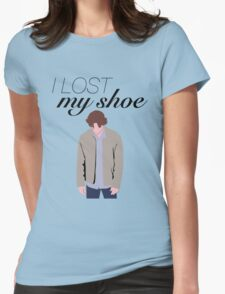 I Lost My Shoe  Womens Fitted T-Shirt
