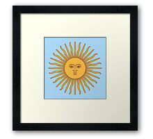 Funny Awesome Sun Framed Print
