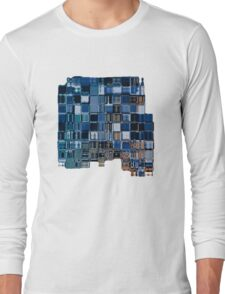 Abstract cubic composition Long Sleeve T-Shirt
