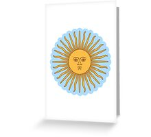 Cool Sun >Cute design< Greeting Card