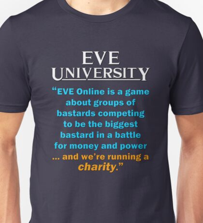 """... and we're running a charity"" T-Shirt"