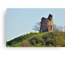 Tutbury Castle, Ruins Canvas Print