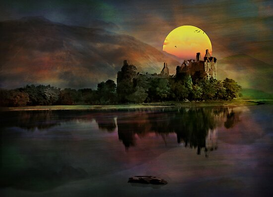 Kilchurn Castle .... by andy551