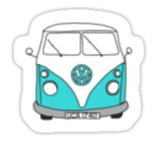 VW Retro Sticker