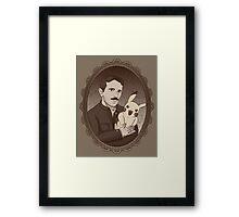 Teslas Secret Framed Print