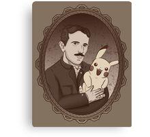 Teslas Secret Canvas Print