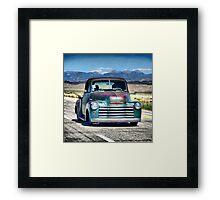 1953 Chevy Pick Up Framed Print