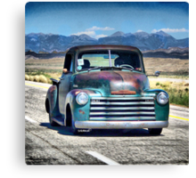 1953 Chevy Pick Up Canvas Print