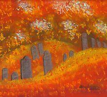 Monica's Cemetery by Hilary Robinson