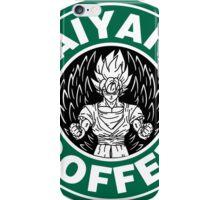 Saiyans coffee iPhone Case/Skin