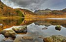 Blea Tarn....Rocks and Reflections by Jamie  Green