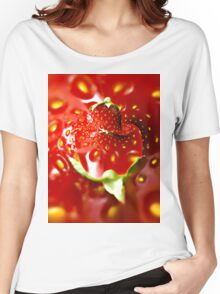 Strawberry mood Women's Relaxed Fit T-Shirt
