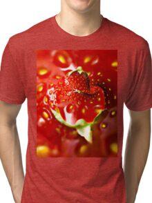 Strawberry mood Tri-blend T-Shirt