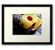 Bumper Love Framed Print
