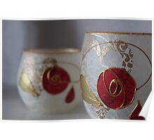 Rose Candles Poster