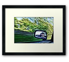 World passing me by Framed Print