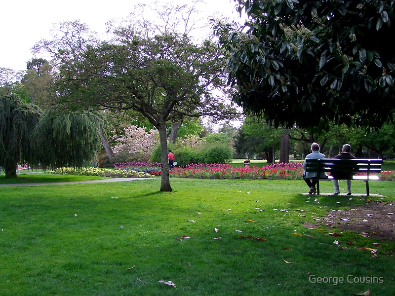 Afternoon In The Park by George Cousins