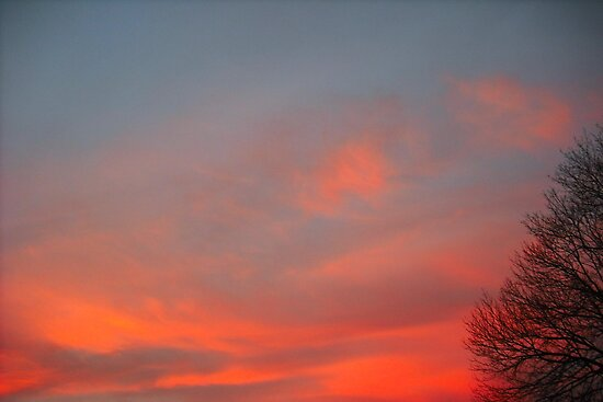 Clouds Aflame by Dawn B Davies-McIninch