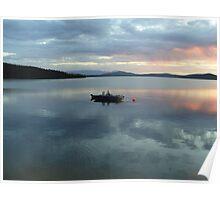 George Lake Alaska Poster