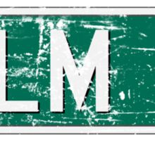 ELM Street Sticker