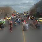 Center Street..... by Larry Llewellyn