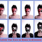 Collette Von Tora Morphs From Bowie To Simmons by Mark Dobson