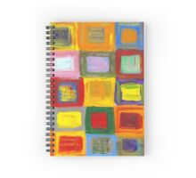 Square Dance 1 Spiral Notebook