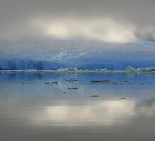 San Rafael Glacier in Early Morning Light by Laurel Talabere
