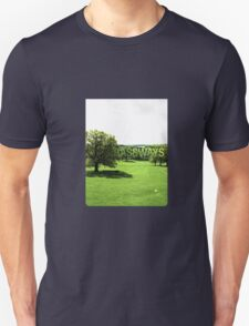 Grassways - An interesting stroll past one man; one bench T-Shirt