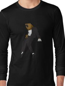 Michael Jackson Bear Long Sleeve T-Shirt
