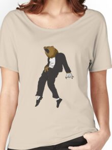Michael Jackson Bear Women's Relaxed Fit T-Shirt