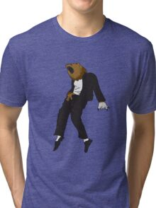 Michael Jackson Bear Tri-blend T-Shirt