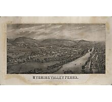 Village of Wyoming, Wyoming Valley Penn'a Pennsylvania (1885) Photographic Print