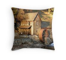 Sixes Road Grist Mill Throw Pillow