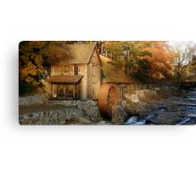 Sixes Road Grist Mill Canvas Print
