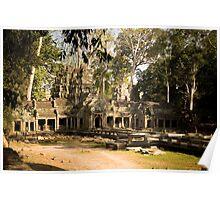 Jungle Temple Poster