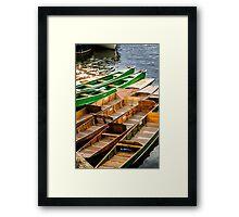 Riverboats Stratford upon Avon Framed Print