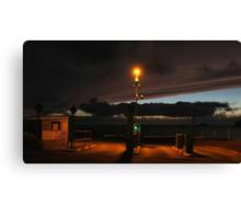 Cornwall Car Park at Night Canvas Print